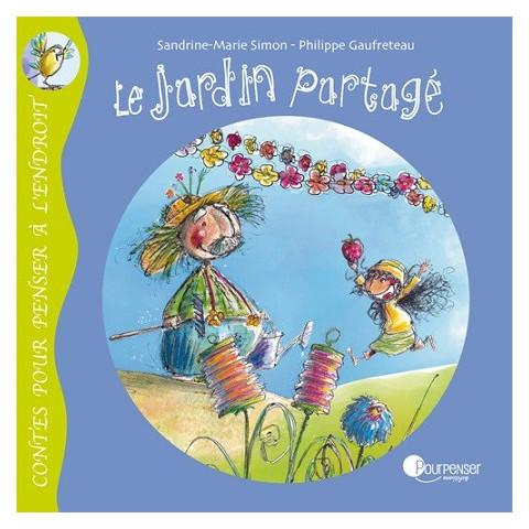 Le jardin partagé, livre illustré