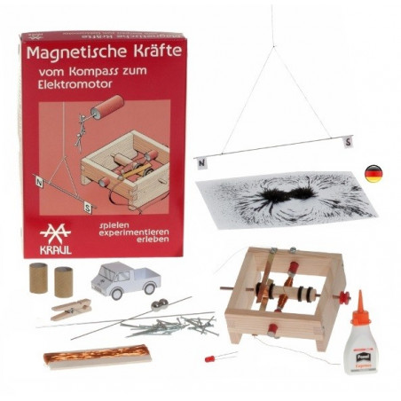 Magnetisme, grand kit d'experiences