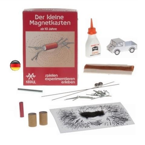 Magnetisme, petit kit d'experiences sciantifiques avec aimant, boussole,, jeu de Kraul