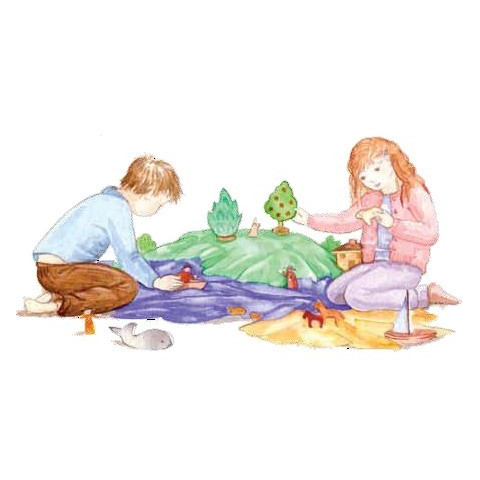 Foulard en soie, grand carré de jeu pour deguisement, table de saison steiner waldorf, playsilk sarah silks