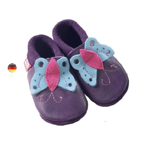 Chausson cuir Butterfly, Pololo