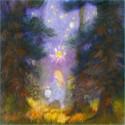 La petite fille à la lanterne, livre illustré Rebecca terniak, lyre d'alizé
