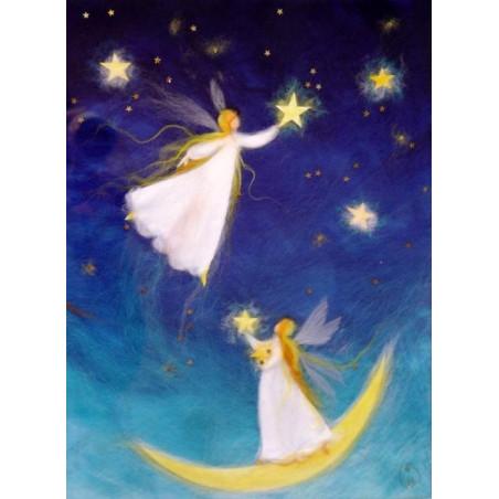 Carte fées des étoiles