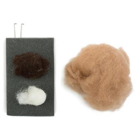 kit créatif : lapins en laine feutrée bio, table de saison waldorf steiner , de Filges, à strasbourg