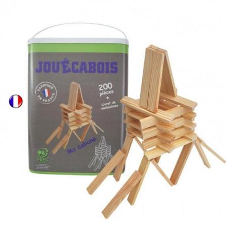 Jouécabois, planchettes de construction françaises