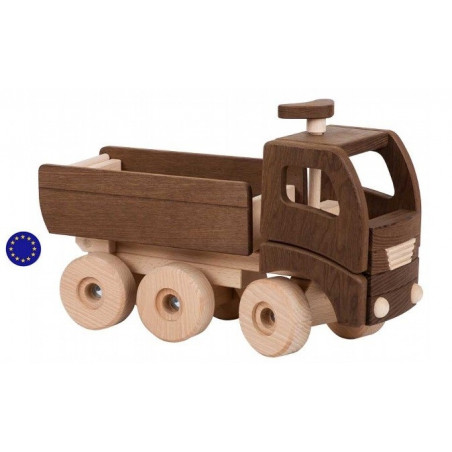 Grand camion benne à bascule
