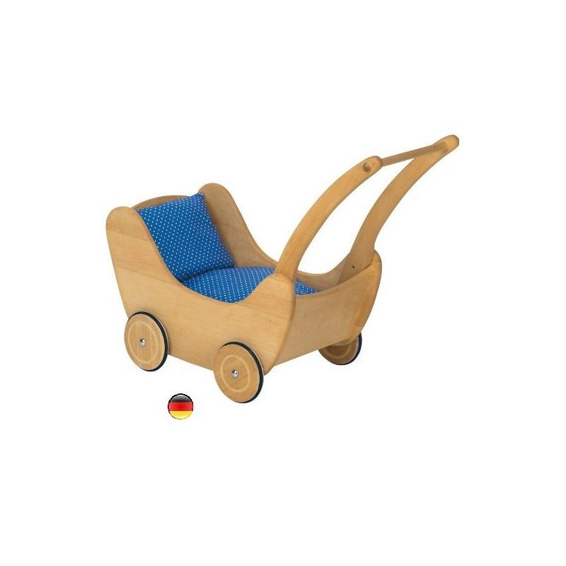 Landau, poussette de poupées, chariot de marche en bois de nic Gluckskafer