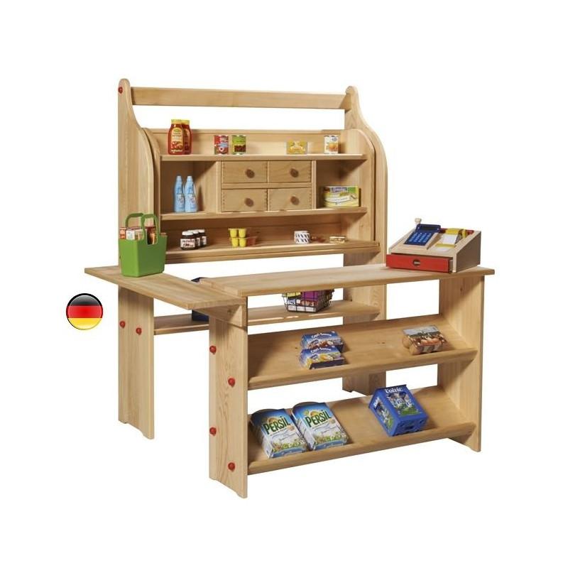 marchande magasin jouet en bois modulable gluckskafer. Black Bedroom Furniture Sets. Home Design Ideas