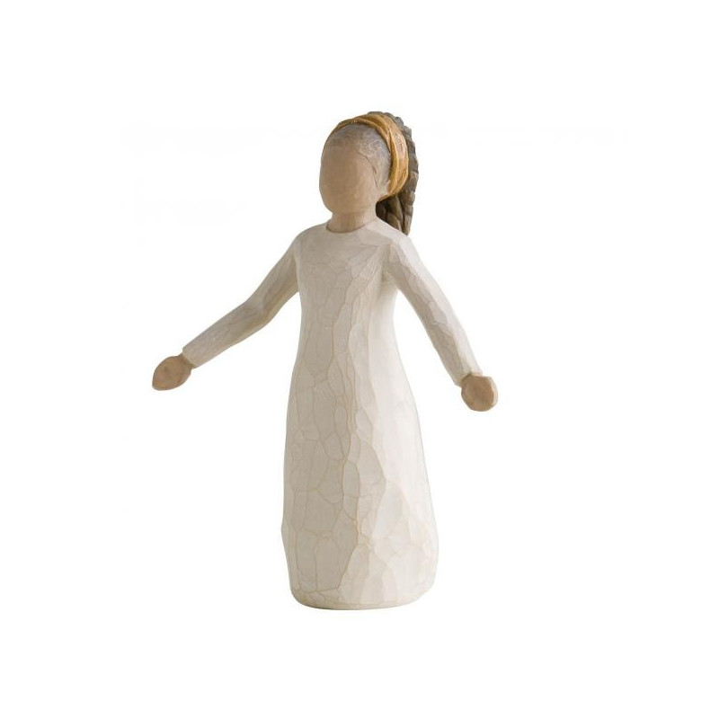 Statuette blessings, benedictions, cadeau fête religieuse, communion, confirmation, steiner waldorf de Willow Tree