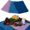 Tissus de laine bio, teinture végétale,3 assortis pour jeu, hiver table de saison waldorf steiner, de filges