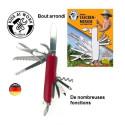 Couteau suisse pour enfant, canif de poche multifonction à bout rond de corvus, strasbourg
