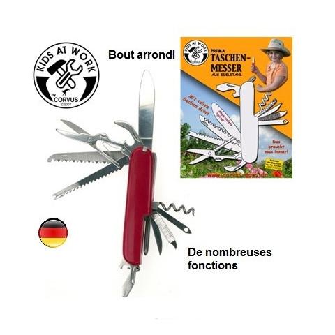 Couteau suisse pour enfant