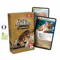 Défis nature Carnivores, jeu de cartes instructif et amusant sur la nature et les animaux sauvages de Bioviva france
