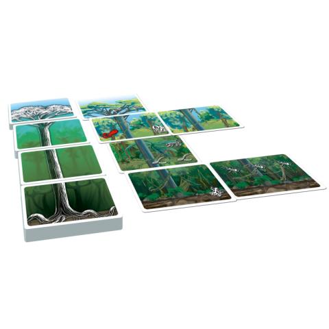 Il était une forêt, jeu  de strategie écologique et éthique de jeux Opla
