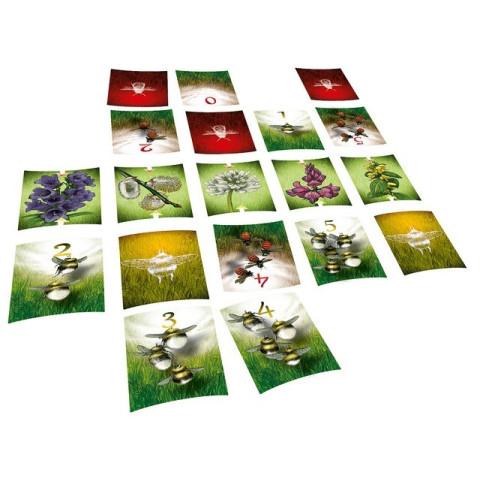 Pollen, abeilles jeu de société avec strategie et tactique de jeux opla