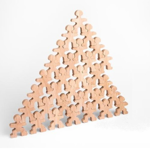 Flockmen, 32 figurines en bois