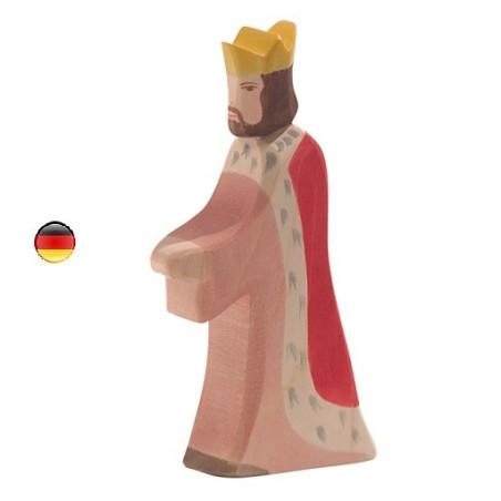 Roi, figurine jouet en bois Ostheimer