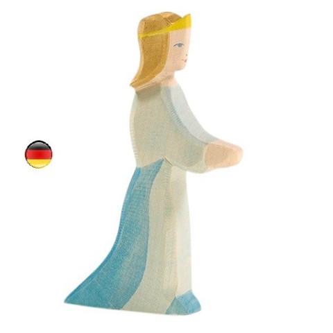 Princesse, figurine jouet en bois du chateau, ecologique et éthique de Ostheimer