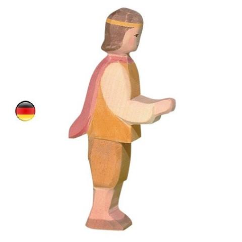 Prince, figurine jouet en bois du chateau, ecologique et éthique de Ostheimer