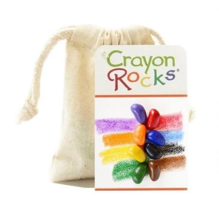 Crayon Rocks, 8 cailloux en cire vegetale