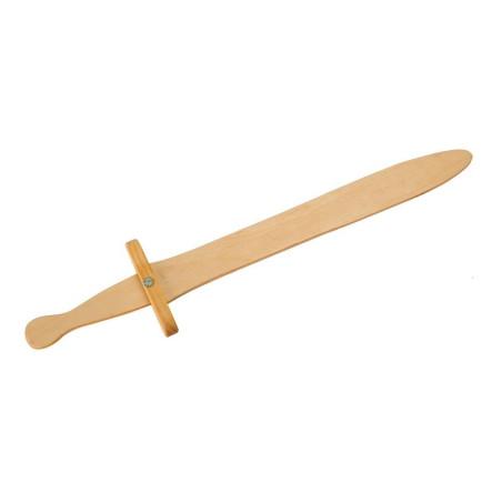 Epée Roland, jouet en bois huilé