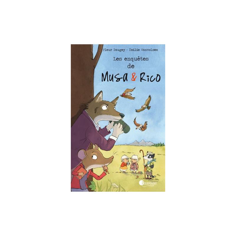 Les enquètes de Musa et Rico, BD livre illustré de pour penser à l'endroit