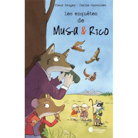 Les enquètes de Musa et Rico, livre