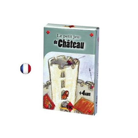 Petit jeu du château, jeu de carte enfant de jeux FK