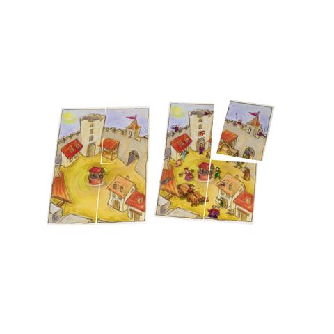 Petit jeu du château, jeu de cartes enfant dès 3 ans de jeux FK