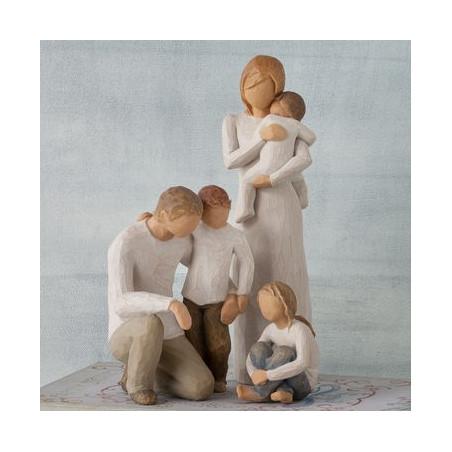 Statuette child of my heart, enfant de mon coeur, cadeau fête mere, communion, confirmation, steiner waldorf de Willow Tree