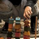 Tours de formes à empiler en bois, jeu d'éveil ecologique et éthique steiner waldorf et montessori de wooden story
