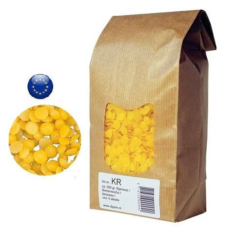 500g de pure Cire d'abeille naturelle pour bougie et cosmetique dipam