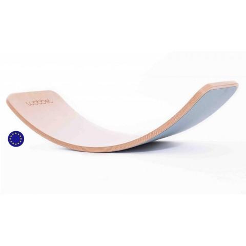 Wobbel bleu, jeu equilibre et motricité, balance rocker board pour enfant et adulte steiner waldorf