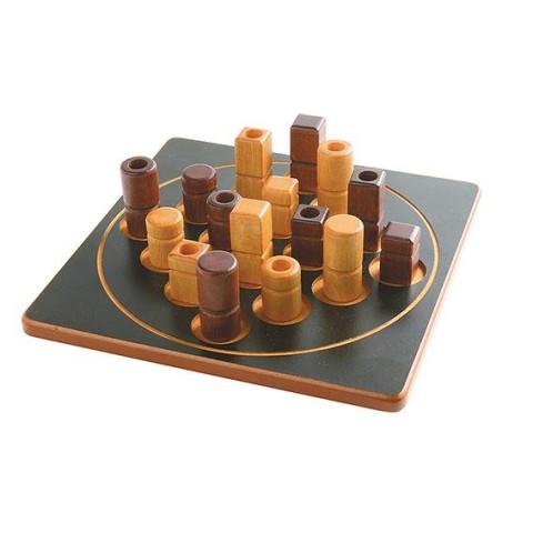 Quarto, jeu de reflexion en bois de gigamic, dès 8 ans