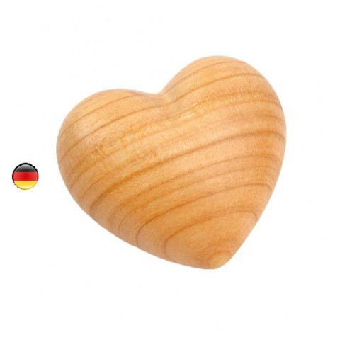 Petit Coeur en bois, à offrir, calendrier avent et caresser de finkbeimer goodheim