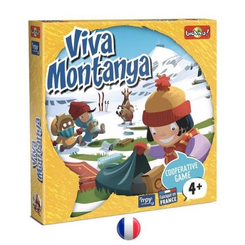 Viva Montanya, jeu coopératif de mémoire et sensibilisation environnement Bioviva