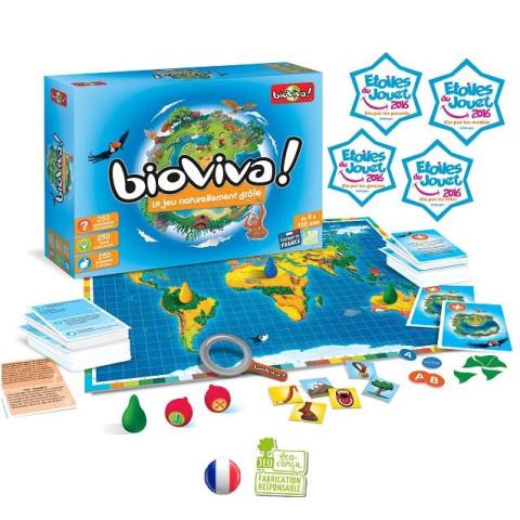 Bioviva, jeu ambiance et défi familial, connaisance de la nature par Bioviva france