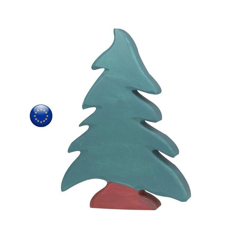 Arbre sapin, jouet en bois, décor steiner waldorf pour table de saison Holztiger ostheimer