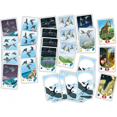 Migrato,  les migration des oiseaux, jeu de strategie ecologique et ethique de opla editions