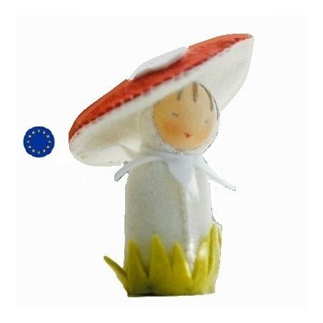 Kit poupée champignon, en feutrine