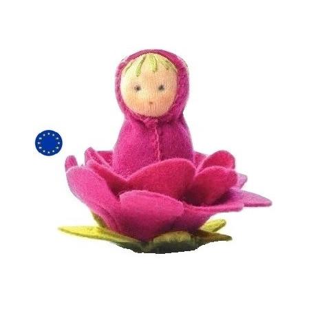 Kit poupée Rose, en feutrine