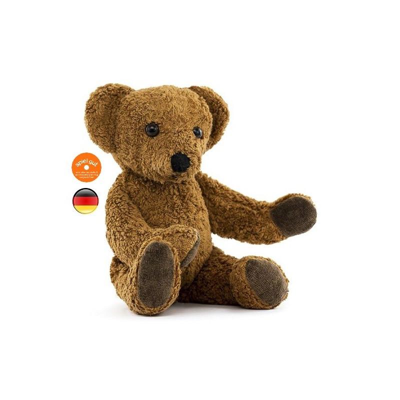peluche doudou ours brun jouet en coton bio vegan de kallisto. Black Bedroom Furniture Sets. Home Design Ideas