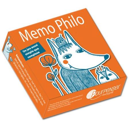 Jeu Mémo Philo, mémory cooperatif