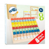 Table de multiplication, jeu d'apprentissage et memorisation calcul en bois legler small foot