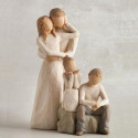 brother and sister, frere et soeur fratrie pour famille de figurine Willow Tree