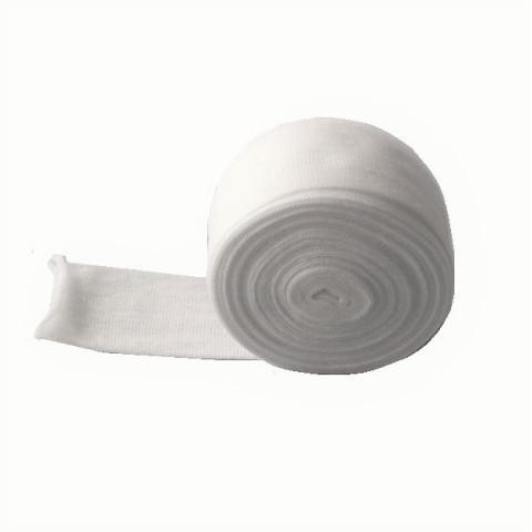 tricot filet tubulaire de gaze blanche pour tête de poupée waldorf