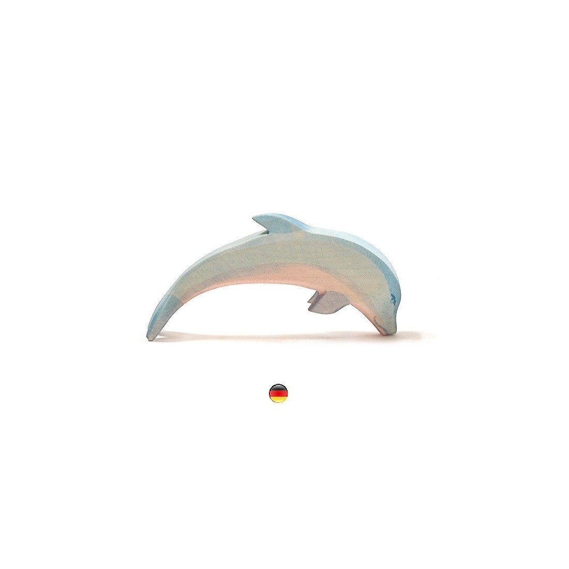 Figurine dauphin, jouet en bois steiner waldorf de Ostheimer