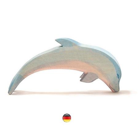 Figurine dauphin en bois Ostheimer