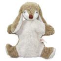 Marionnette lapin benni,  doudou peluche en coton bio, jouet naturel Kallisto