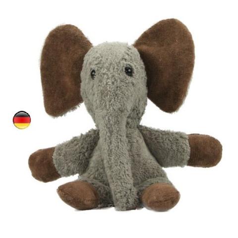 Peluche éléphant en coton bio Kallisto